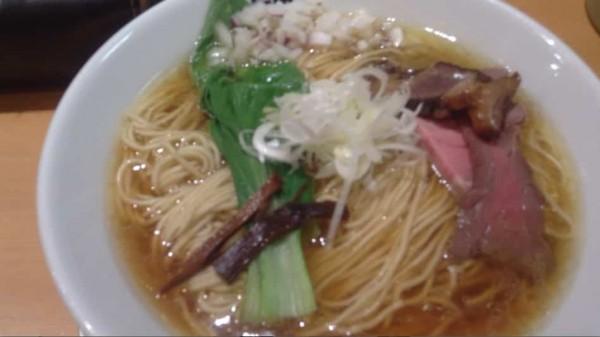 醤油そば 麺大盛り(竹末東京)