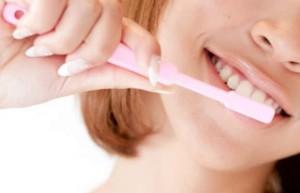 歯磨きの写真