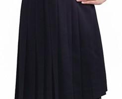 制服のスカートの構図(学生服や事務服等)