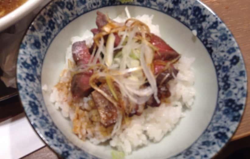 肉玉丼(玉子抜き)