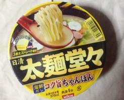 日清太麺堂々 コク旨ちゃんぽんのパッケージ写真