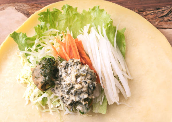野菜の料理写真