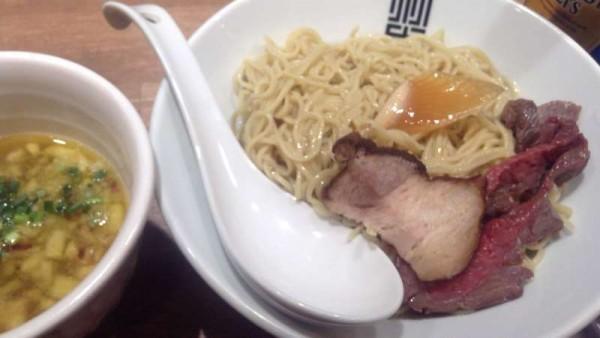 限定麺細つけそば〜フグヒレ昆布水version 竹末東京プレミアム
