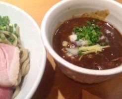 W牛すじcurryつけそば ~コーンペーストと共に~、(カレーつけ麺)竹末東京プレミアムにて|ラーメン屋