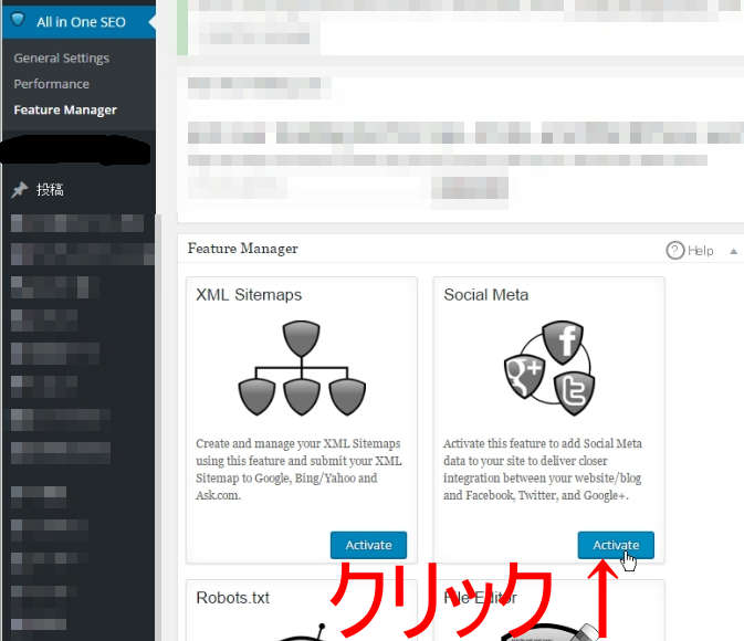 ALL in One SEO pack Social Meta Twitter settings 2