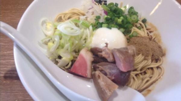 竹末東京プレミアム限定『煮干し黒カレー和え玉』