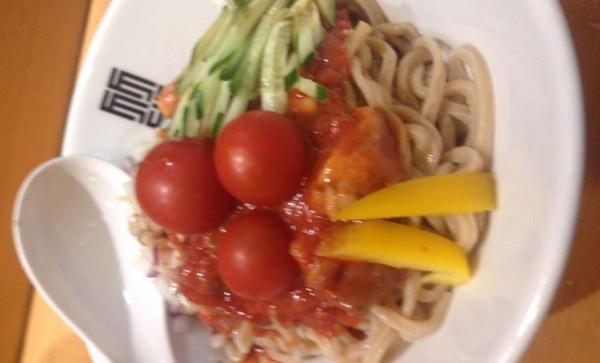 SPLASH tomato chicken Mazesoba  3