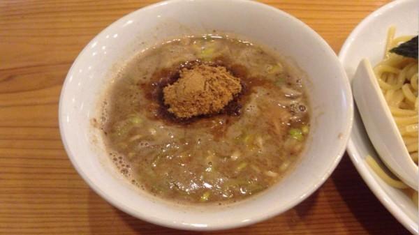 すずめ食堂のつけ麺 スープ