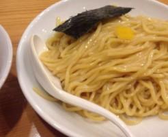すずめ食堂のつけ麺の『麺』