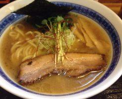 濃厚魚介鶏らーめん750円