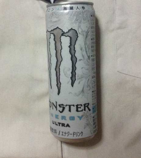 アサヒ飲料 モンスターウルトラ缶