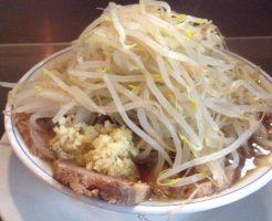 らーめん麺量200g 野菜多め ニンニク