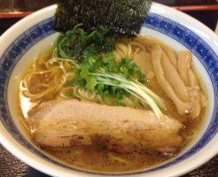 中華そば700円 麺屋 頂 中川會 曳舟店