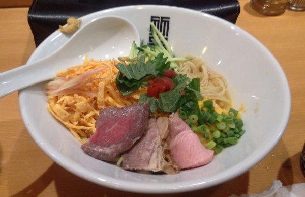 竹末東京プレミアム限定麺冷やし中華 生ドレ版
