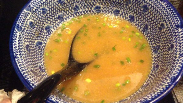 スープ割投入後