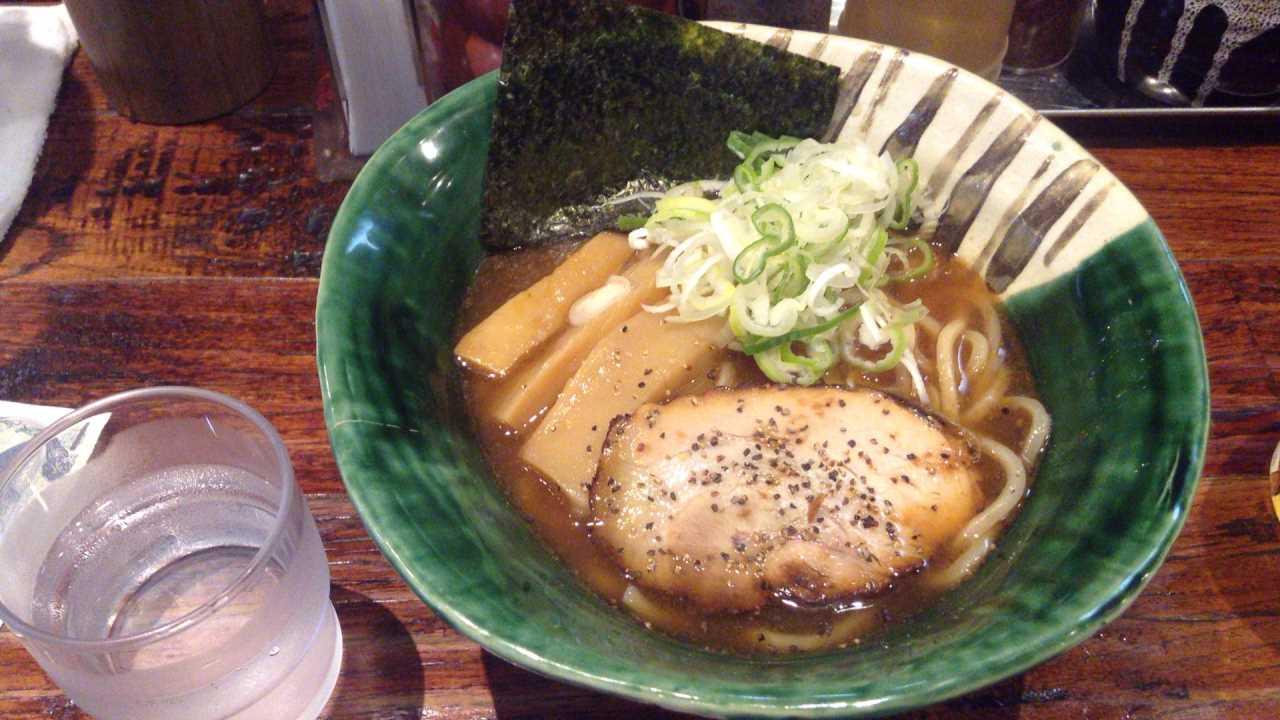 麺や 璃宮 亀戸店らーめん680円
