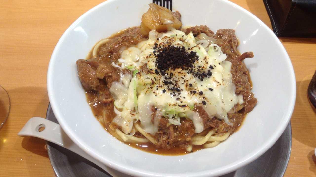 竹末東京プレミアムの限定麺 カレーラーメンか