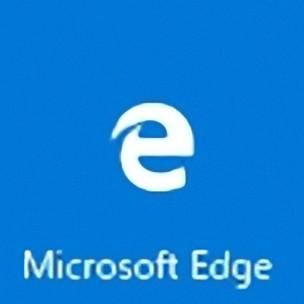 Microsoft Edgeのアイコン拡大図