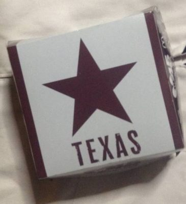 テキサスバーガーのパッケージ写真