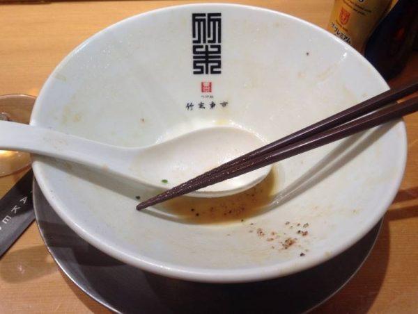 限定麺 味噌タンメン 完食