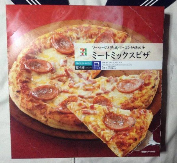 パッケージ ソーセージと熟成ベーコンが決め手 ミートミックスピザ