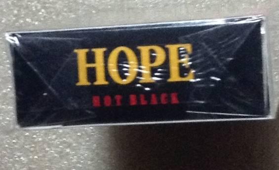 HOPE-HOT BLACKの上面の写真