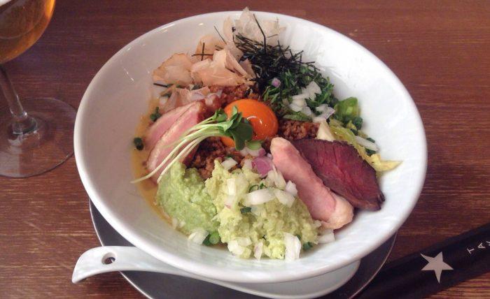 限定麺 鴨と罠