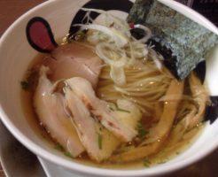 JUNKSTORYの鶏清湯のラーメン