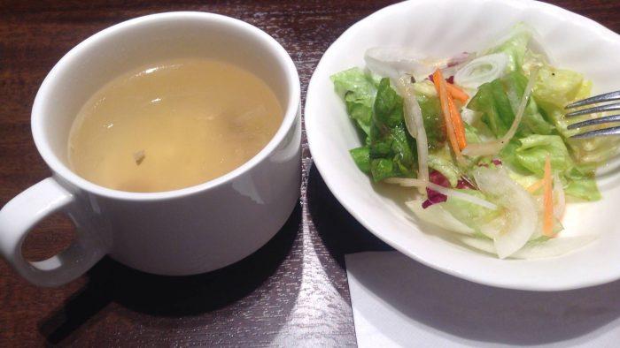 いきなりステーキのランチタイムに付いてくるスープ