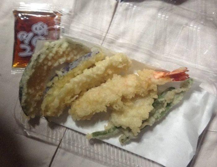 てんや 天ぷら盛り合わせ 税込み430円