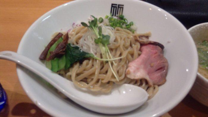 麺 竹末東京プレミアムにて 鶏つけそば900円