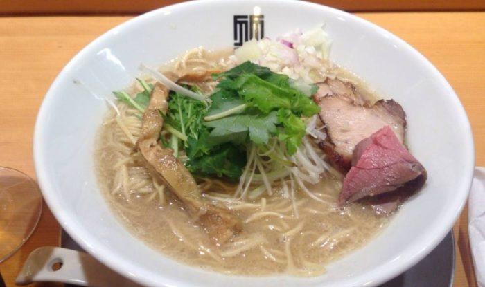和出汁鯛そば(ラーメン)竹末東京プレミアムの限定麺