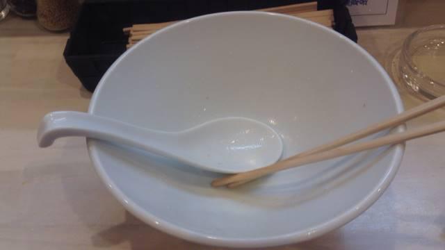 拉麺 吉法師のラーメンの丼