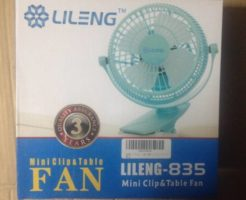 卓上扇風機『mini clip Table fan lileng 835』