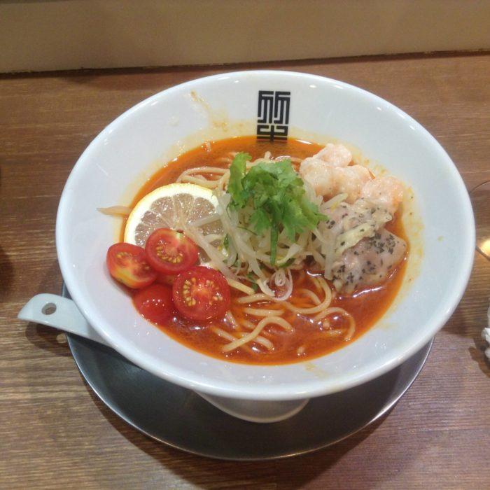 冷やし辛そば|竹末東京プレミアムの限定麺