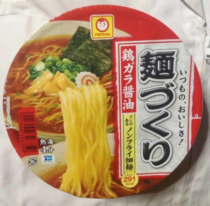 麺づくり 鶏ガラ醤油 (マルちゃん)