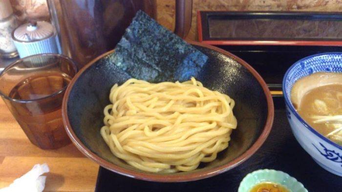 麺:麺屋 頂 中川會の『濃厚魚介鶏つけめん』
