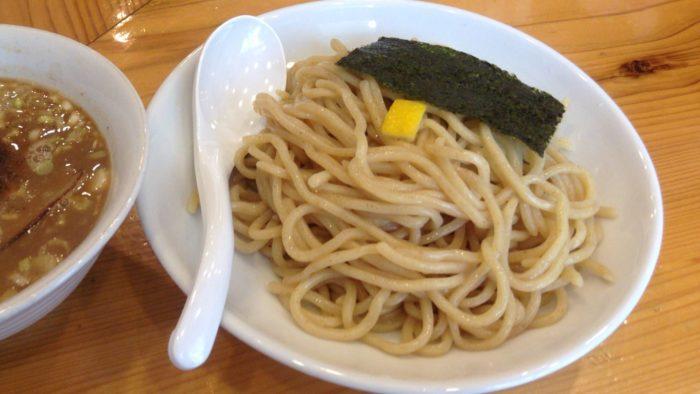 すずめ食堂の『つけ麺』の麺