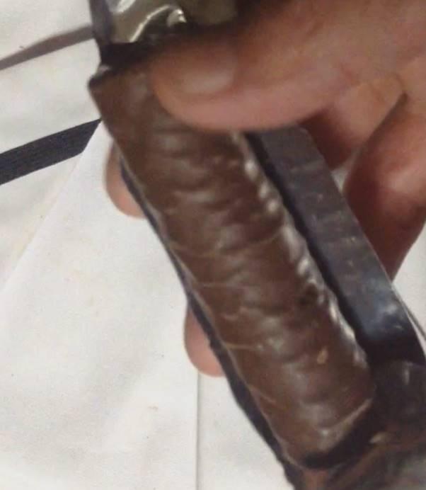 チョコレートのうまい棒中身