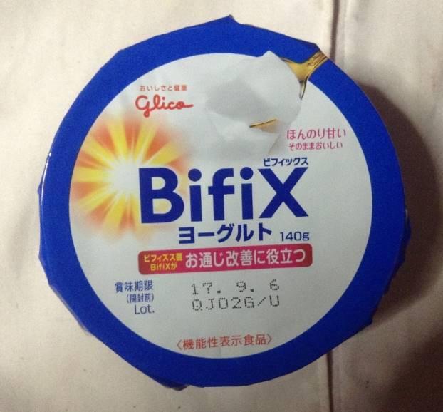 BifiXヨーグルト 140g(グリコ)パッケージ