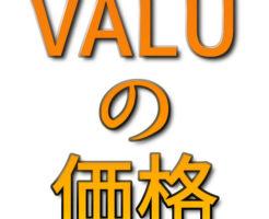文字『VALUの価格』