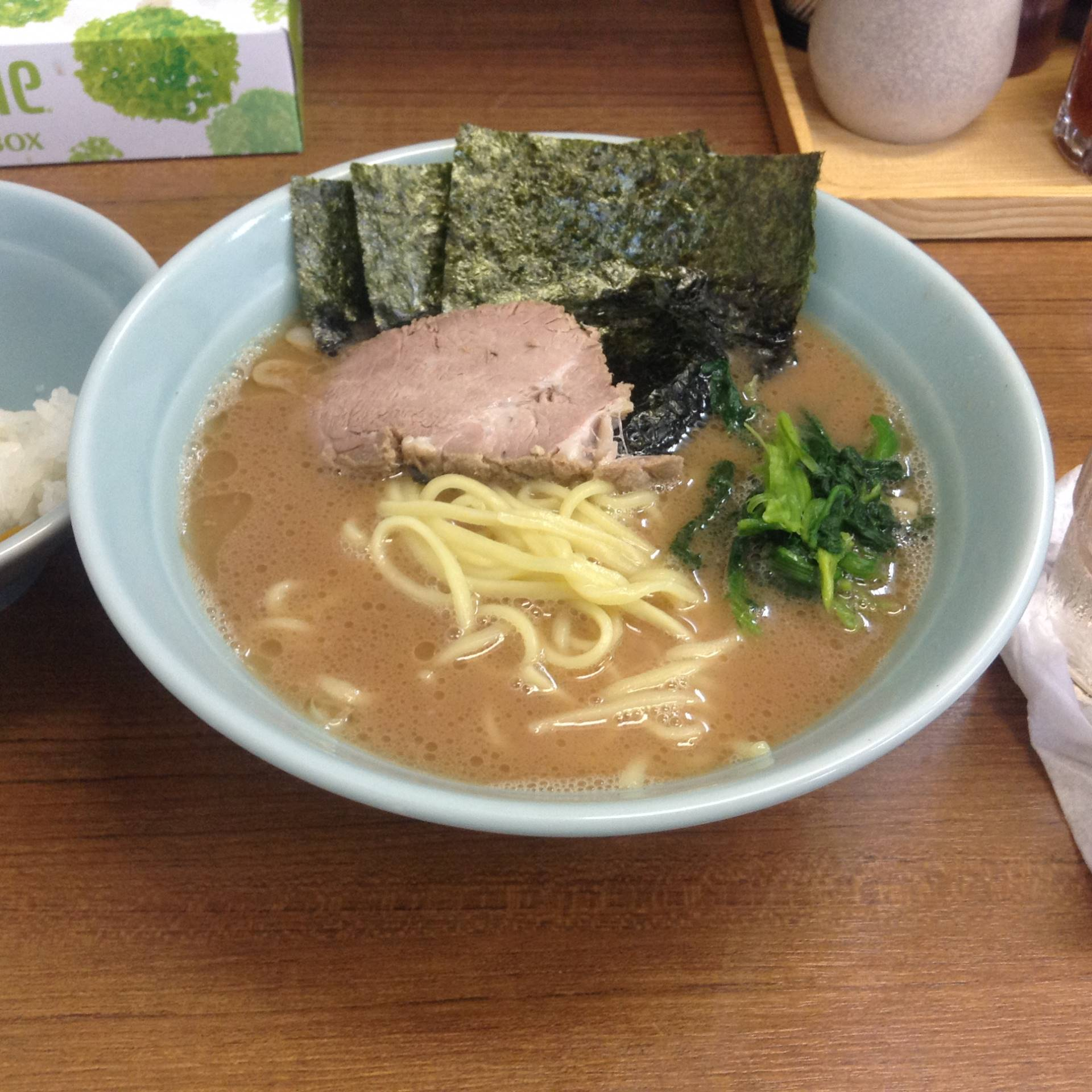 武蔵家北千住店2回目 ラーメン650円