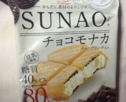 SUNAOチョコモナカ パッケージ