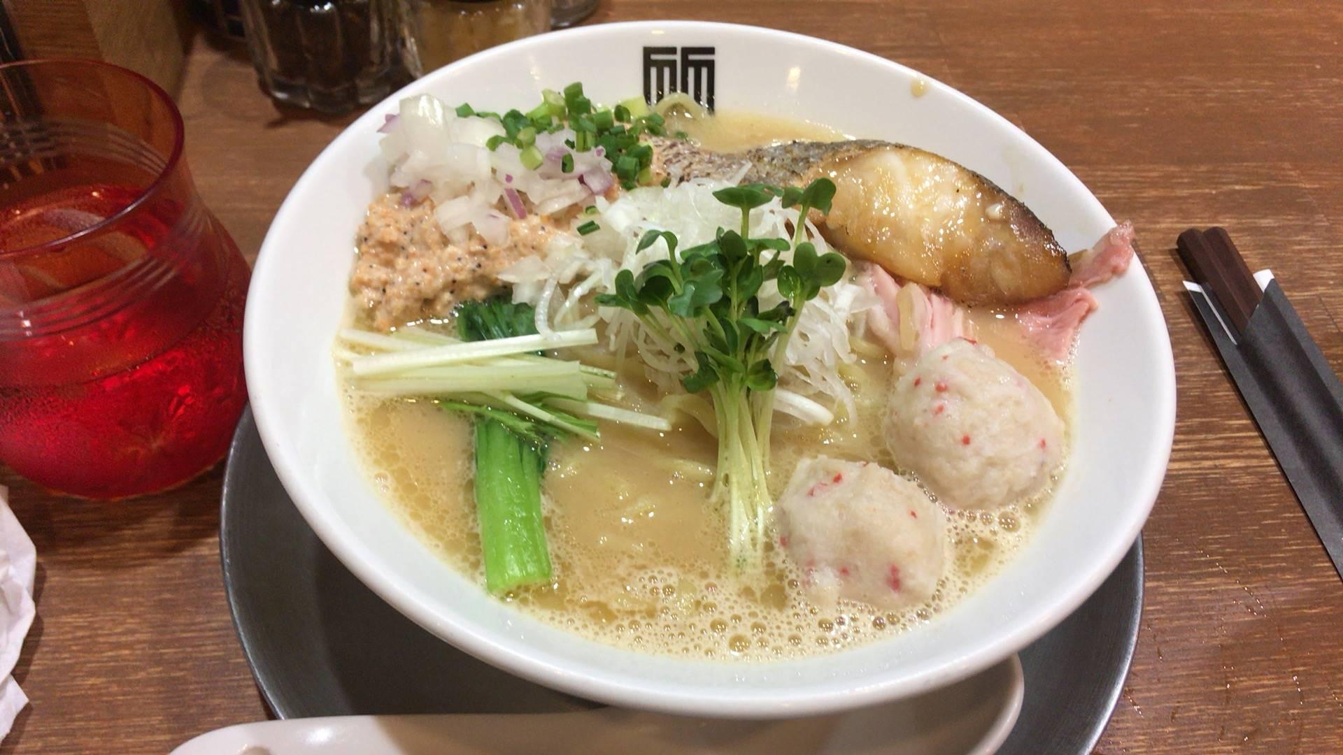 限定海老の白湯スープなラーメン|竹末東京プレミアム