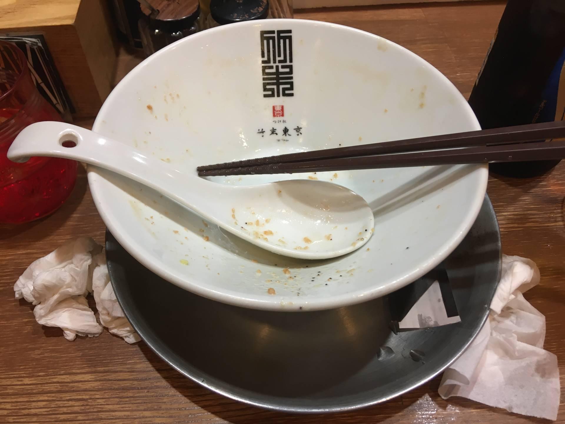 竹末東京プレミアムの限定海老の白湯