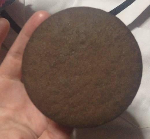 アイスのクッキー部分