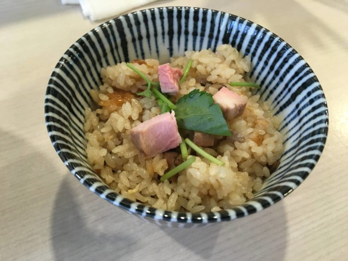 麺処 きなり 炊き込み飯:150円
