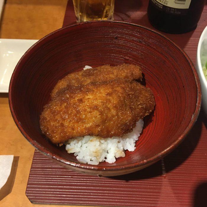 麺 みつヰの自家製ソースのカツ丼