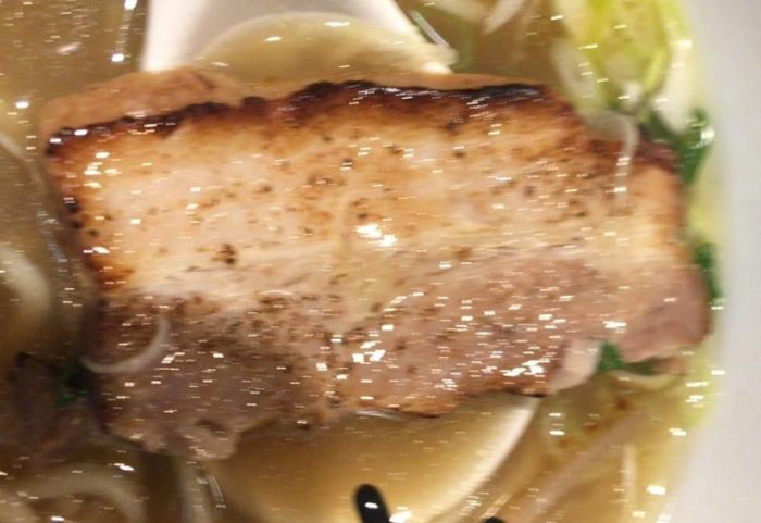 塩(ラーメン)の豚肉|麺 みつヰ
