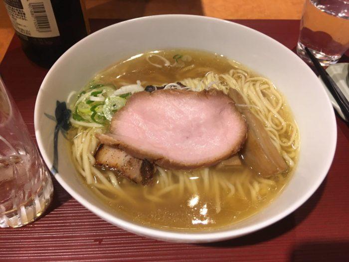 麺 みつヰ の「麺」 塩 細麺